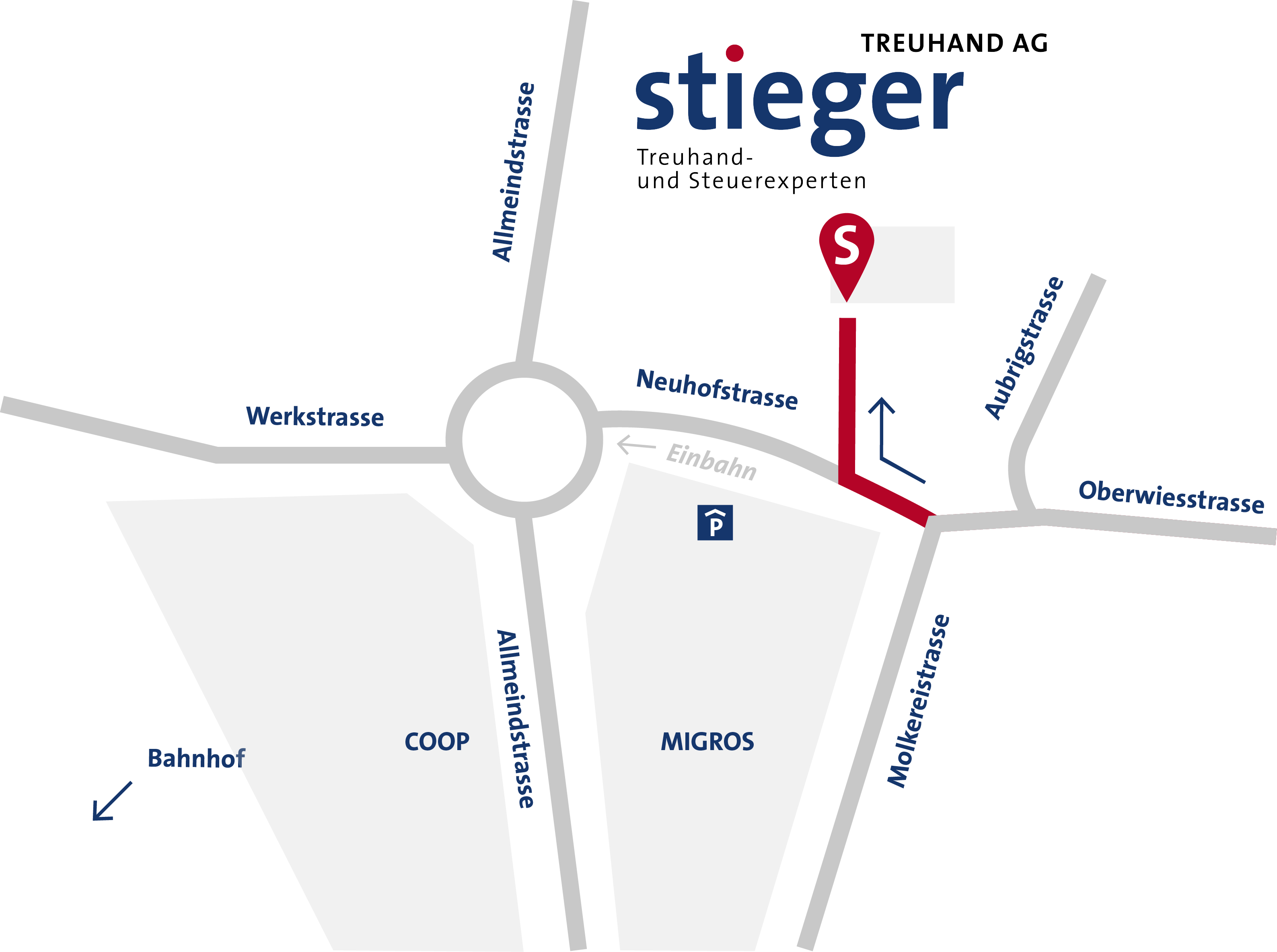 Map Wegbeschreibung